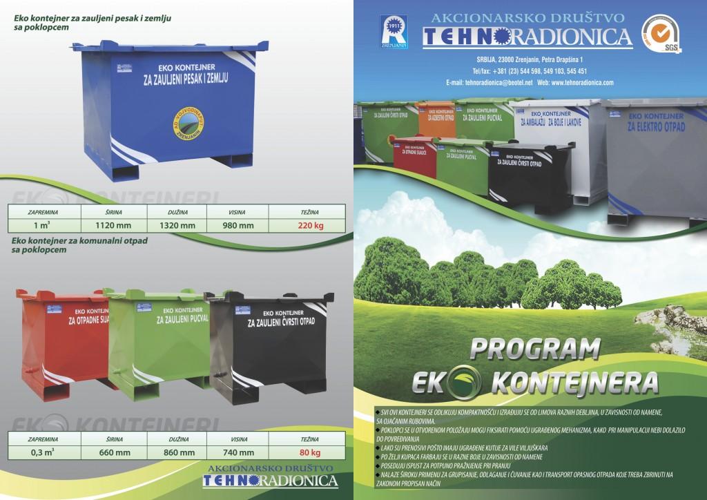 Tehnoradionica Eko kontejner naslovna